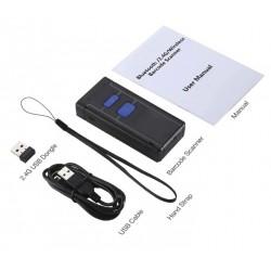 Kieszonkowy skaner kodów kresowych Bluetooth USB bezprzewodowy 2.4