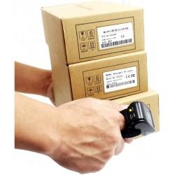 Czytnik kodów kreskowych na palec QR 2D Aztec Maxicode Bezprzewodowy kabel Bluetooth