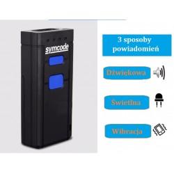 Kieszonkowy czytnik kodów kresowych QR Bluetooth USB bezprzewodowy 2.4