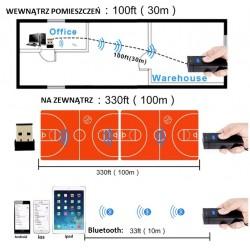 Mini skaner kieszonkowy kodów kreskowych 2D Potrójna komunikacja bezprzewodowa przewodowa lub Bluetooth