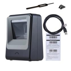 Stacjonarny skaner kodów 2D  odczyt z monitorów i ekranów LCD PC Telefon Tablet