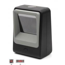 Stacjonarny skaner kodów 2D QR Aztec MaxiCode odczyt z monitorów i ekranów PC Telefon