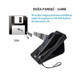 Bezprzewodowy skaner kodów Bluetooth USB QR 2D Potrójna komunikacja bezprzewodowa Bluetooth i kabel USB dobra pamięć 16MB
