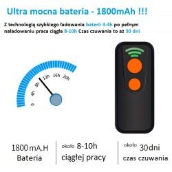 Kieszonkowy mini czytnik kodów kreskowych QR Aztec MaxiCode Bluetooth USB 2.4G potrójna komunikacja