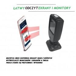 Stacjonarny czytnik kodów kreskowych QR MicroQr XT-7308