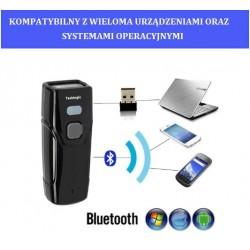Kieszonkowy Bezprzewodowy Bluetooth mini skaner kodów kreskowych 1D i 2D