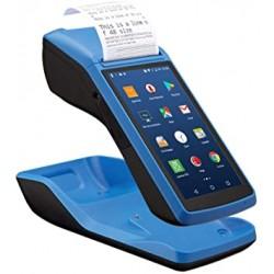 Ręczny kolektor danych PDA pos z 58mm drukarką termiczną bezprzewodowy ekran dotykowy 3G Wifi NFC android 6.0