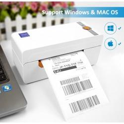 Drukarka termiczna do etykiet 110mm USB kompatybilny z Amazon paypal Etsy Ebay USPS