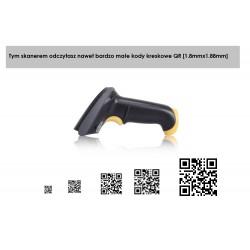 Skaner kodów kreskowych 2D Qr aztec PDF417 MaxiCode dowód rejestracyjny auta
