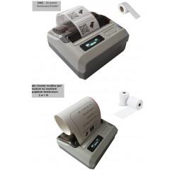 Bluetooth mobilna przenośna drukarka pokwitowań i etykiet 2w1 Komunikacja kabel USB lub Bluetooth mocna bateria 2400mAh