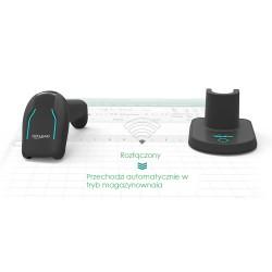Bezprzewodowy USB i Bluetooth 3 w 1 Skaner kodów kreskowych 1D 2D kody PCB (Printed Circuit Board) DPM (Direct Part Marking)