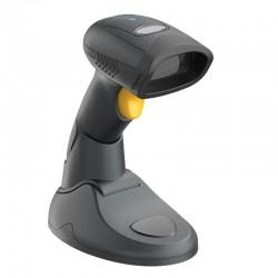 Bezprzewodowy skaner kodów kreskowych z bazą 1D 2D Bluetooth i stick 2.4G