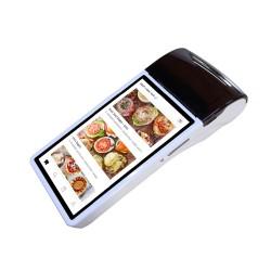 Bezprzewodowy terminal POS z wbudowaną drukarką 58mm dotykowy ekran NFC bateria 6000mAh