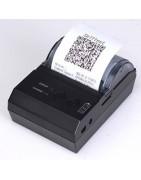 Mini drukarka przenośna bezprzewodowa QR 2D 48mm wydruk papieru