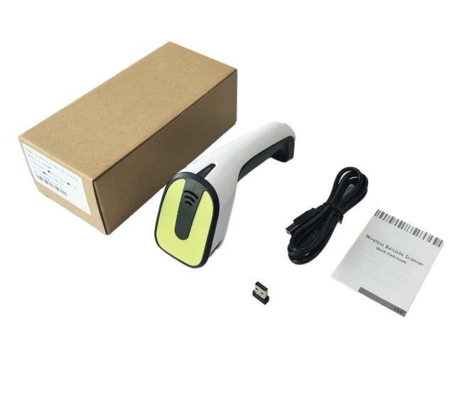 Skaner kodów kreskowych komunikacja na 3 sposoby Bluetooth lub kabel lub radiowo bezprzewodowo